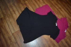 Long T-Shirt schwarz Gr. 42 von meaveor