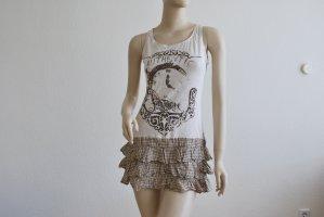 Long Top, Minikleid, mit Rüschen, von PROMOD, GR. M/L