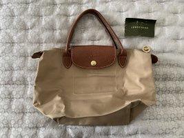 Longchamp beige handbag Tasche