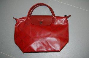 Longchamp Déposé,  rot,  Special Edition, Neuwertig