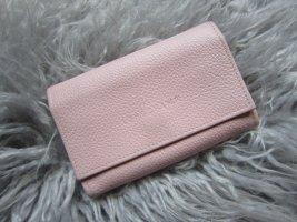 Longchamp Cartera rosa Cuero