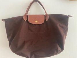 Longchamp Carry Bag dark brown-brown