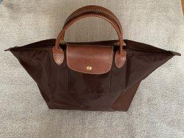 Longchamp Le Pliage Braun Größe M