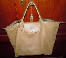 Longchamp Shopper beige cuir