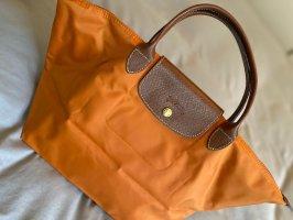 Longchamp Le Pliage Größe M Rost-Orange