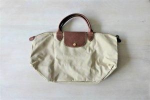 Longchamp Le Pliage M Tasche faltbar beige braun