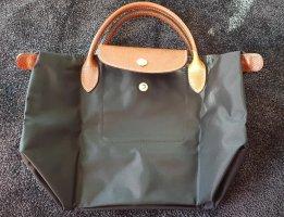 Longchamp Le Pliage, Original, schwarz, S, kurze Henkel,Guter Erhalt