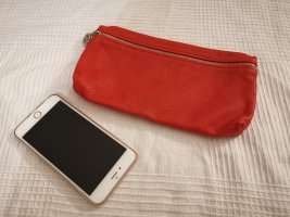 Longchamp leather clutch / cosmetic purse