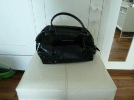 Longchamp Legende Verni klein schwarz lack kate moss Top Zustand