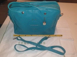 Longchamp Quadri Turquoise