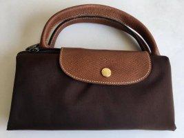 Longchamp Borsa da viaggio marrone scuro-oro