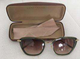 Longchamp Retro Glasses dark green