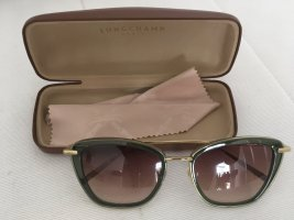 Longchamp Gafas Retro verde oscuro