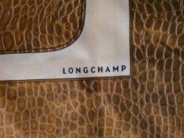 Longchamp Zijden doek lichtbruin-licht beige