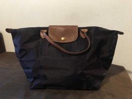 Longchamp Torba shopper ciemny fiolet