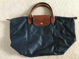 Longchamp Bolso con correa petróleo
