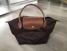 Longchamp Torba shopper brązowy-ciemnobrązowy