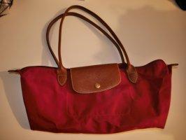 Longchamp Tasche in Bordeauxrot