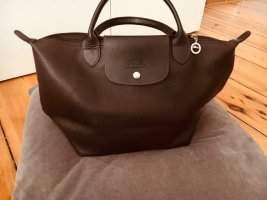 Longchamp Handbag brown red-brown leather