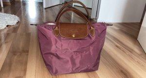 Longchamp Tasche S in lila- rot