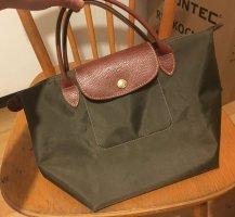 Longchamp tasche schöne dunkel grün
