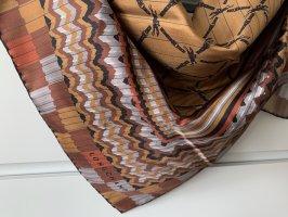 Longchamp Foulard en soie multicolore