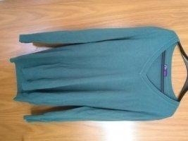 Arizona Long Sweater sage green cotton