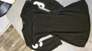 Haoduoyi Lang shirt zwart
