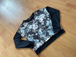 Longshirt Only Gr. S mit Blumenmuster