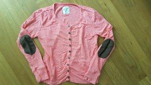 Basefield Koszulka z długim rękawem różowy-różowy