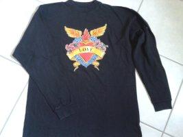 Boutique Moschino Koszulka z długim rękawem czarny Bawełna