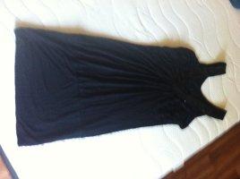 Longtop/Minikleid in schwarz