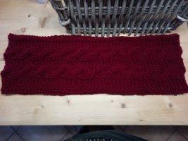 Handmade Snood dark red