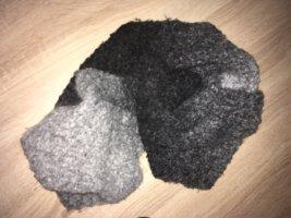 Bonita Écharpe ronde gris anthracite-gris clair