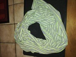Halsdoek lichtgrijs-lichtgroen