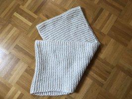 Écharpe ronde beige clair