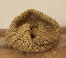 H&M Tube Scarf light brown-camel