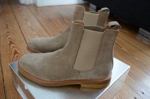 LORIBLU Leder Chelsea Boots Stiefel NEU! 39 Stiefeletten Ankle Boots