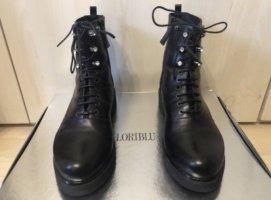 Loriblu Stiefel Stiefeletten schwarz swarovski