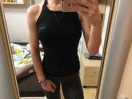 Lotto Sport Shirt schwarz XS