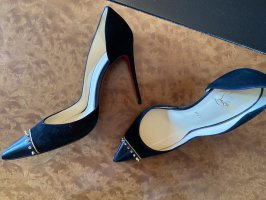 Christian Louboutin High Heels black-gold-colored