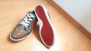 Christian Louboutin Lace-Up Sneaker multicolored