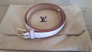 Louis Vuitton Ceinture en cuir rosé-doré cuir