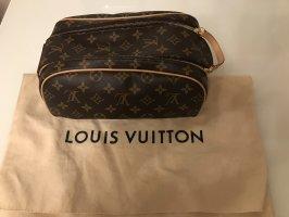 Louis Vuitton Travel Bag dark brown-brown