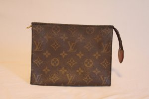 Louis Vuitton Mini sac brun cuir