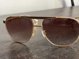 Louis Vuitton Gafas de sol cuadradas marrón-color bronce