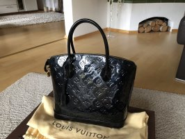 Louis vuitton Alma black in Lack