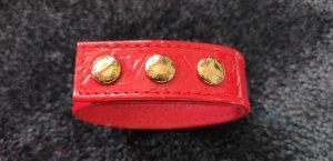 Louis Vuitton Armband, Koll.2001, Vernisleder rot, L: 23cm, Limited, Neuwertig