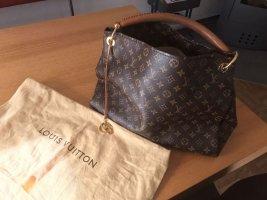 Louis Vuitton Draagtas bruin-zwart bruin