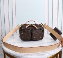 Louis Vuitton Bolso color bronce-marrón oscuro